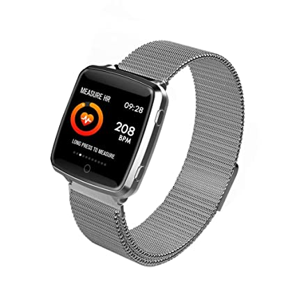 Amazon.com: Smart Watch,Fitness Tracker With Heart Rate ...