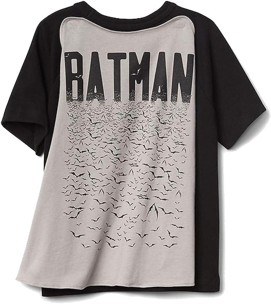 NWT Baby GAP DC Comics Superhero Superman Cape Tee Shirt T-Shirt Boys 3T 4T 5T