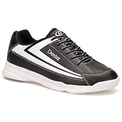 Dexter Jack II Wide Bowling Shoes, Black/White, Size 9.0: Sports & Outdoors