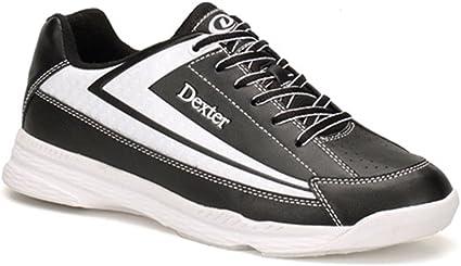 Dexter Jack Bowling Shoes, Black/White