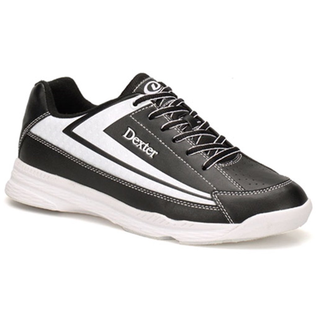 Dexter Jack II Wide Bowling Shoes, Black/White, Size 7.0 B06XC66CBS Parent
