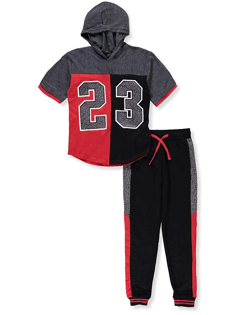 Quad Seven Boys' 2-Piece Pants Set Outfit 16-18