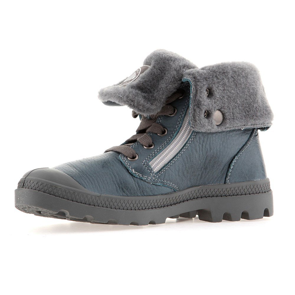Palladium 19994 Chaussures Blau BAGGY LEATHER S S - nordic blue metal Blau (Nordic Blue/Metal 463) bd6b258 - automatisms.space