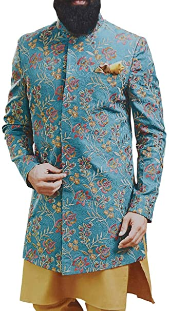 Amazon.com: INMONARCH JO1024 - Traje de boda bordado para ...