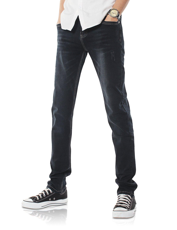 Demon/&Hunter 808B Series Mens Skinny Fit Slim Jeans