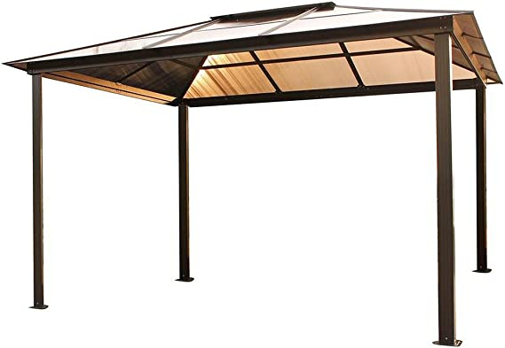 STC gz620ls 10 x 13 ft. Madrid Hard Top Gazebo: Amazon.es: Jardín