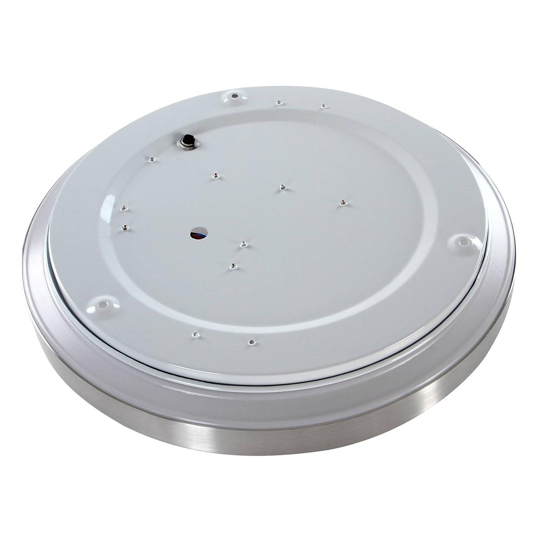 Jago - Plafón LED (Foco de techo) de color blanco frío, 220-240 V, eficiencia energética: A + en juego de 2 unidades: Amazon.es: Iluminación
