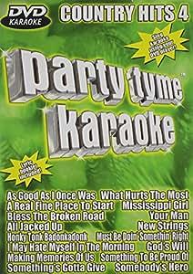 Party Tyme Karaoke: Country Hits, Vol. 4