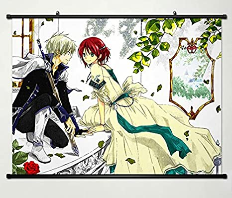 Wall Scroll Poster Fabric Painting For Anime Snow White With The Red Hair Shirayuki Zen Wistalia Clarines 016