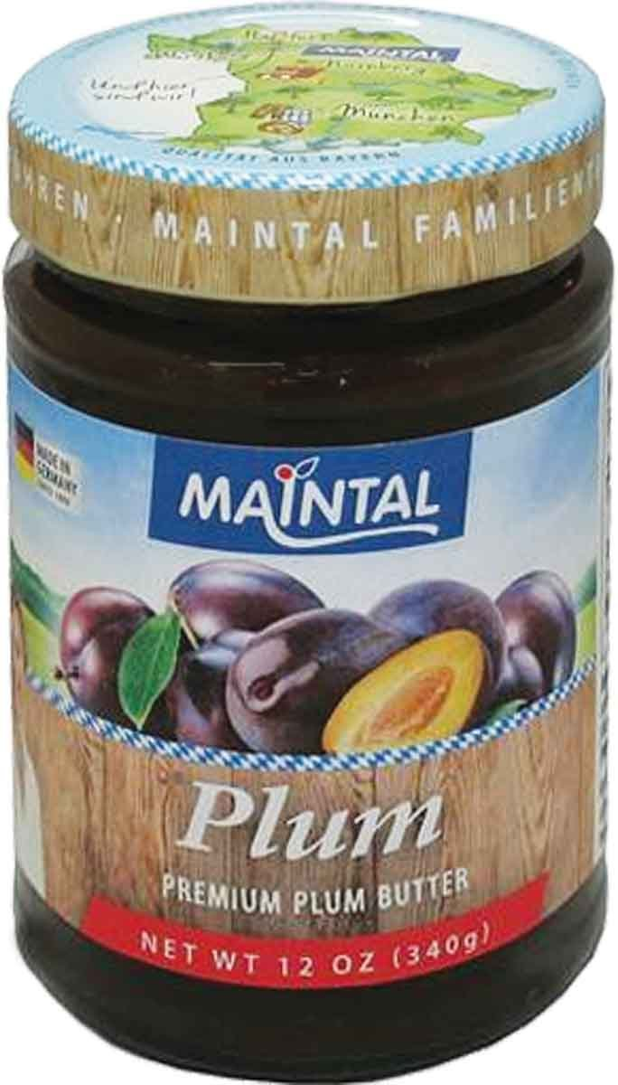 Maintal Premium Plum Butter, 12 Ounce by Maintal (Image #1)