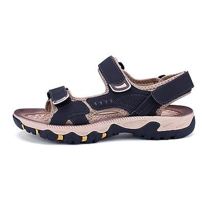 Sommer Herren Sandalen Klettverschluss Breathable Casual Strand Schuhe Mode Herrenschuhe