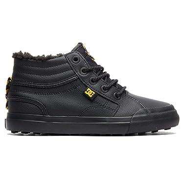 26eb464cb2 DC Shoes Jungen Evan HI Winter Skateboardschuhe, Schwarz  (Black/Yellow-Combo Xkky