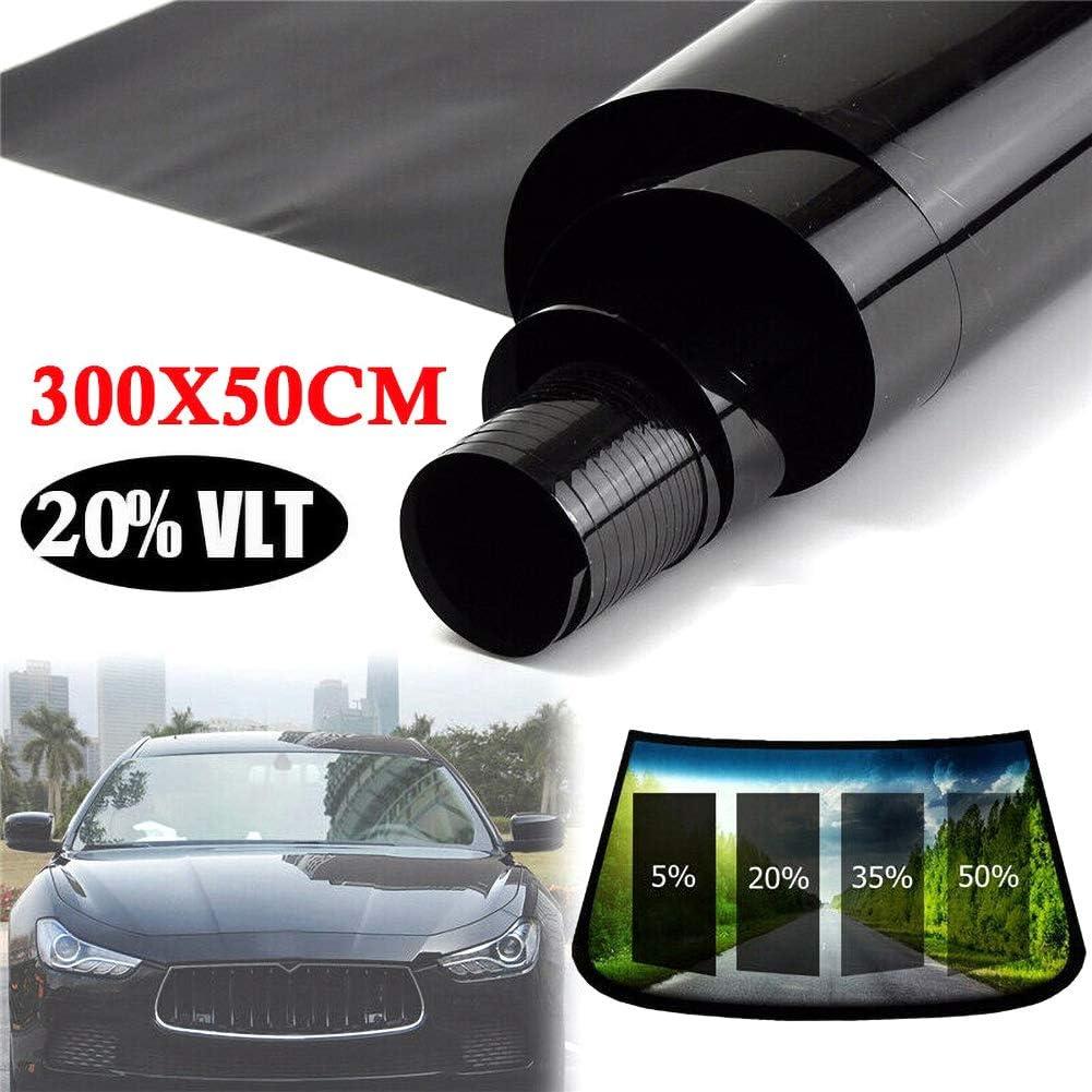 35/% 50/% per la Protezione di Animali Domestici e Beb/è Alivier 50 20/% 300 cm finestrino per Auto Protezione UV Pellicola Adesiva Pellicola per vetri oscuranti Pellicola 15/% 25/%