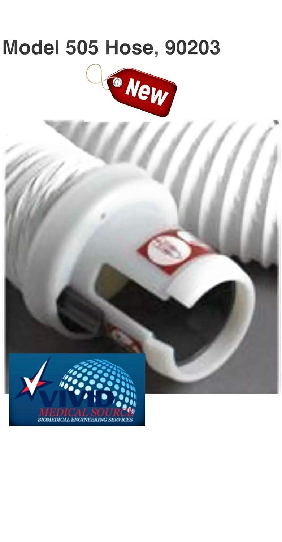 3M Health Care MMM 90203 Arizant Bair Hugger Replacement Hose for Model 505 Swivel Hose Flange Standard Length