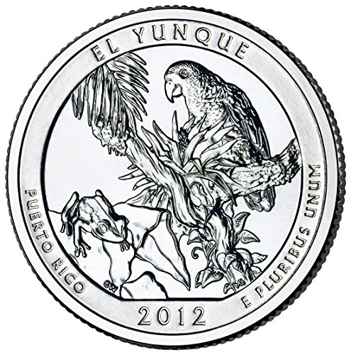 2012 P El Yunque National Forest Quarter Choice Uncirculated