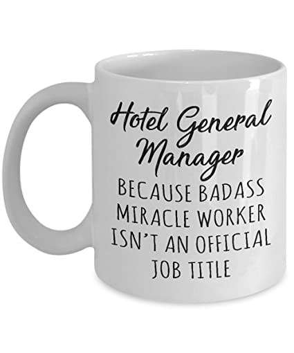 Amazon Gift For Hotel General Manager