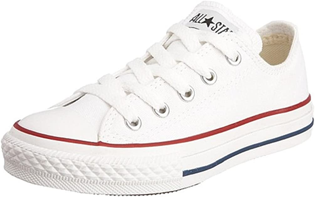 CONVERSE ALL STAR CHUCK TAYLOR OX LOW OPTICAL WHITE 3J256 UNISEX SHOES