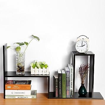 Gototop Diy Standregal Bücherregal Tischorganizer Schreibtisch