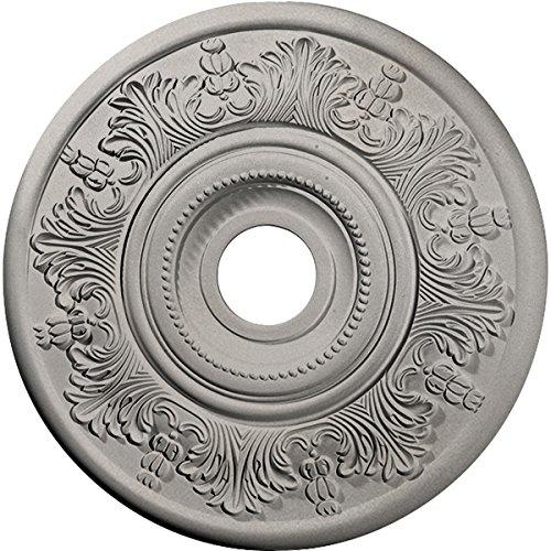 Ceiling Medallion Pearl - Ekena Millwork CM20VIPWS Vienna Ceiling Medallion, Pearl White