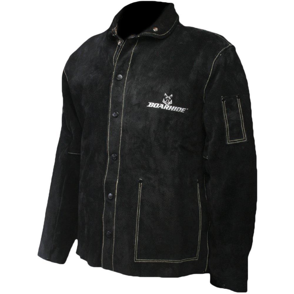 Caiman Black Boarhide - 30Jacket, Welding-Apparel X-Large 3029-6
