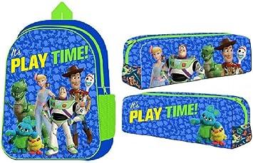 Disney Pixar Toy Story 4 Mochila y Estuche para lápices para niños Escuela: Amazon.es: Equipaje