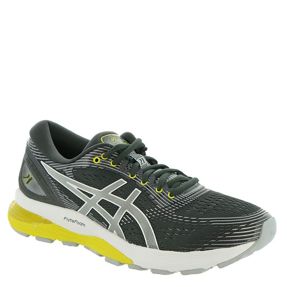 Dark Grey Mid Grey ASICS Women's Gel Nimbus 21 Running shoes