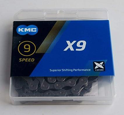 KMC Cycle Chaîne X9,73 9 vitesse vélo chaîne