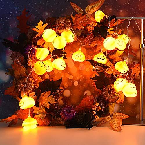 Cheap  certainPL String Lights, Halloween Lantern Pumpkin Lamps Decoration Halloween Props for Festival..