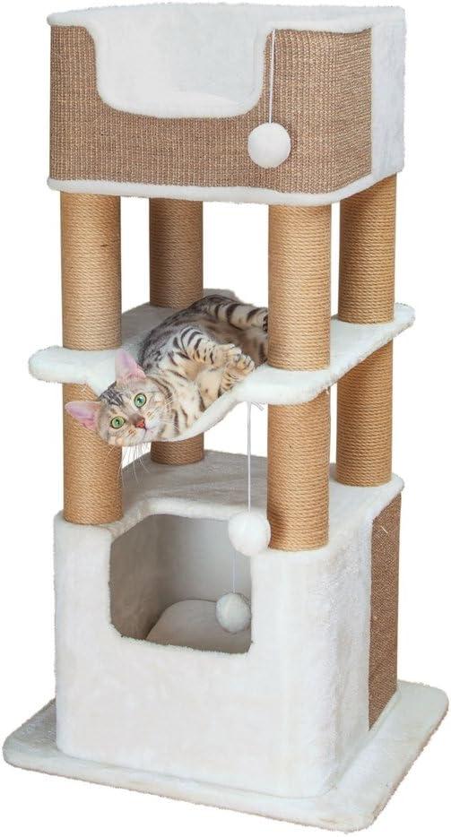 rascador trixie gato acostado