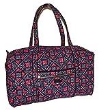Vera Bradley Iconic Large Miller Travel Bag Duffel Mosaic Multi