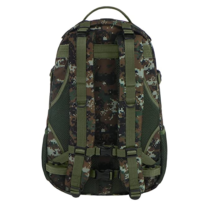 Amazon.com : East West U.S.A RTC523 Tactical Multi-Use Molle Assault Military Rucksacks Backpack, Green/Camo : Sports & Outdoors