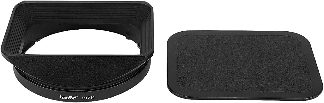 Gadget Place Black Vented Metal Lens Hood for Fujifilm XF 16-80mm F4 R OIS WR