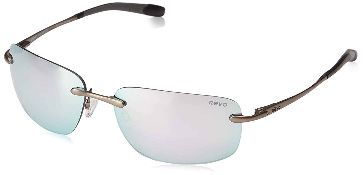 Revo Unisex RE 1029 Outlander Rectangular Polarized UV Protection Sunglasses