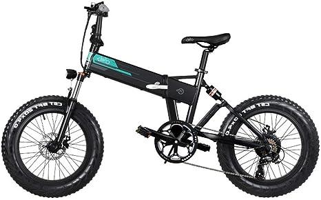 Fiido M1 Folding Electric Mountain Bike 250w Motor Shimano 7 Speed Derailleur 12 5ah Lithium Battery 3 Mode Lcd Display 20 Wheels 4 Inch Fat Tires Black Amazon Co Uk Sports Outdoors