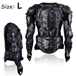 Motorcycle Motocross Clothing Racing Men s Armor Spine Chest Protective Jacket Large TKT 11