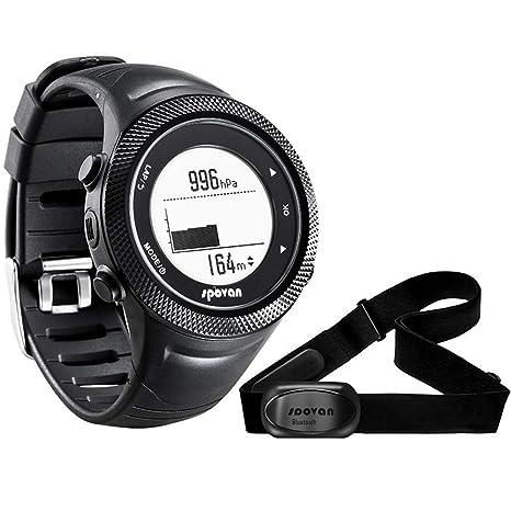 Smartwatches Reloj Deportivo GL006 Reloj Digital Deportivo Navegación GPS Monitor de Ritmo cardíaco Gimnasio Hombres Mujeres