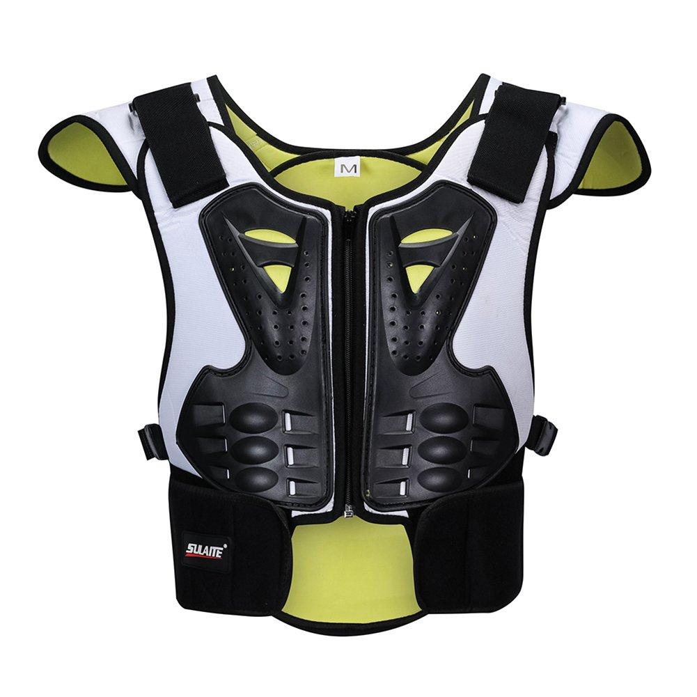 BARHAR Dirt Bike Body Chest Spine Protector Armor Vest Protective Gear for Dirtbike Bike Motocross Skiing Snowboarding (L)