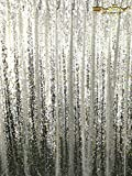 ShinyBeauty Reversible-Sequin Curtain Backdrop-Silver-20FTx10FT,Mermaid Sequin Fabirc Backdrops For Photography,Unique/Shimmer Party or Wedding Backdrop