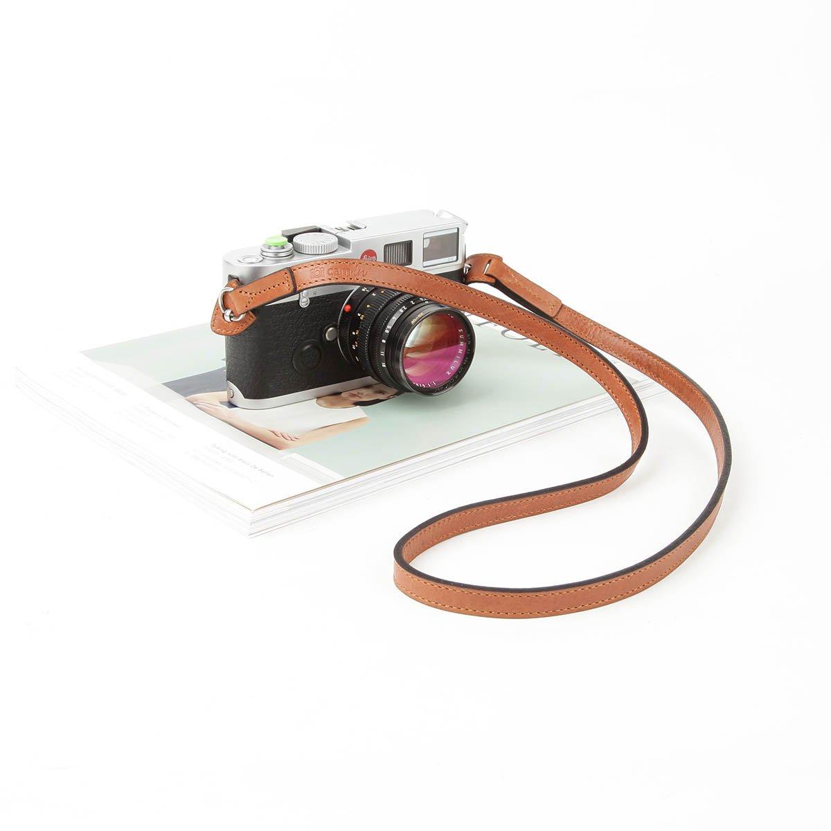 cam-inイタリア牛皮ショルダーネックカメラストラップfor Leica/Nikon / Sony/Fujifilm B07FBZHR3S
