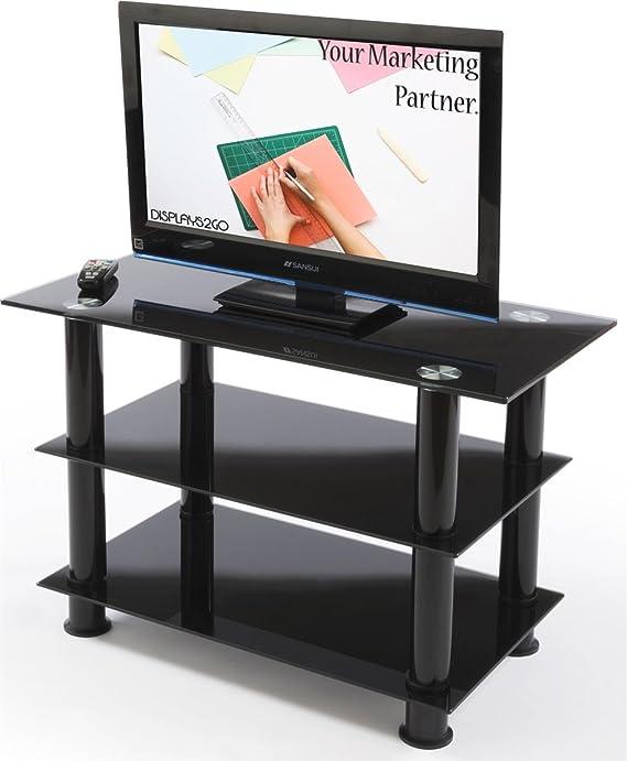 Displays2go sltv32blk HDTV Sala de Estar Centro de Entretenimiento ...