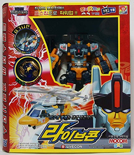 Takara Transformers GC-18 Live Convoy (Evac) Galaxy Force [Import Version]