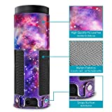 Protective Case for Amazon Echo 1st Generation/Echo Plus Leather Cover Sleeve Skins Protective Accessory (Colorful-sky)