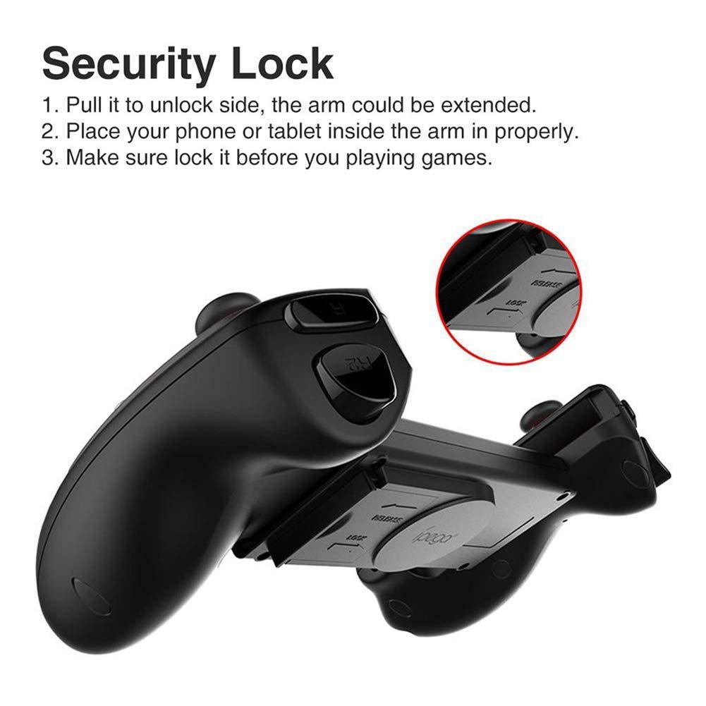 Amazon.com: ZYM Game Pad Bluetooth Gamepad Controller Mobile ...