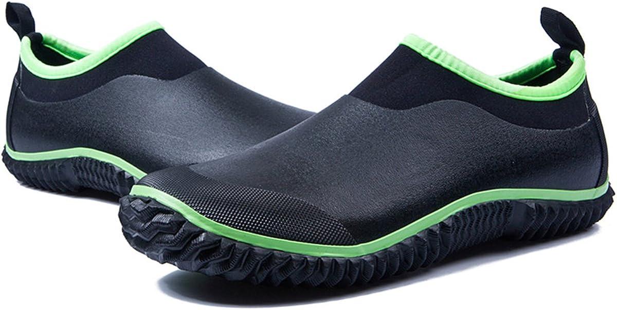gracosy Rain Boots for Women Men, Waterproof Garden Shoes Beach Water Shoes Lightweight Walking Sneaker Car Wash Footwear Running Shoes