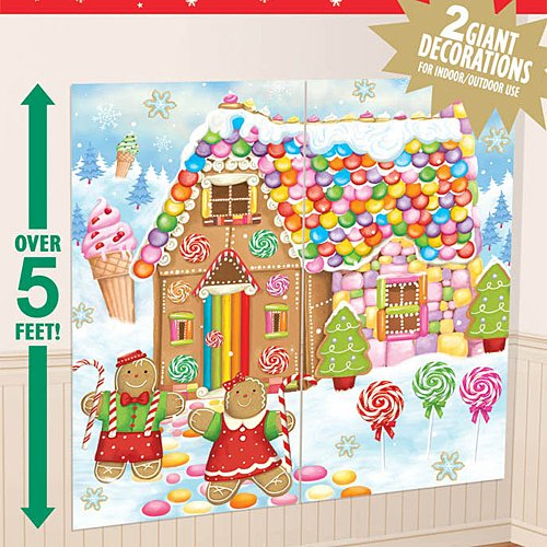 (Sweet Holiday Scene Setters Add-Ons Christmas Accessory, 2 Ct. | Plastic)
