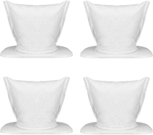 Holife and Replaceable Filter for Cordless Handheld Vacuum Cleaner, Washable and Reusable, 4 Pack Vacuum Filters (Model: HMHM207AWUS, HMHM207CWUS, HLHM036BW, HLHM036AB, HLHM208ABUS, KB-9005)