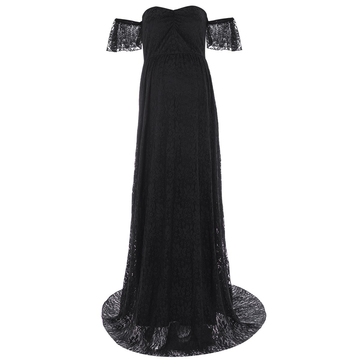 Black Baby Shower Long Dress: Amazon.com