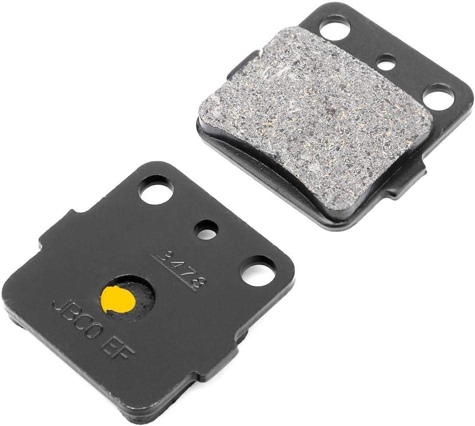 Duokon 6pcs Efficiente Freno Stabile Coefficiente di Attrito Funzione Pastiglie Freno Anteriori per Moto anteriore per Grizzly 660 4x4 YFM660F 02-08