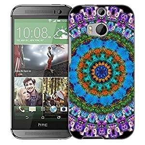 Generic Mandala Floral Pattern Snap on Phone Case for HTC One M9