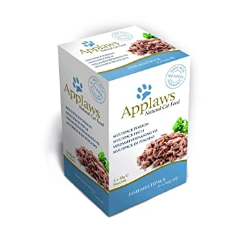 Applaws Gato Bolsa Multi Pack Jalea Pescado, 5 Unidades (5 x 150 g): Amazon.es: Productos para mascotas